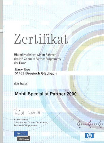 hp mobile specialist partner 2000  75